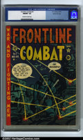 Golden Age (1938-1955):War, Frontline Combat #5 Gaines File pedigree 3/10 (EC, 1952). CGC NM/MT 9.8 Off-white to white pages. Davis, Elder and Severin a...