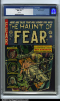 Golden Age (1938-1955):Horror, The Haunt of Fear #16 Gaines File pedigree 3/11 (EC, 1952). CGC NM+9.6 White pages. Davis, Kamen and Evans art. Ray Bradbur...