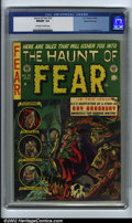 Golden Age (1938-1955):Horror, The Haunt of Fear #18 Gaines File pedigree 3/12 (EC, 1953). CGC NM/MT 9.8 Off-white to white pages. Evans, Davis and Feldste...