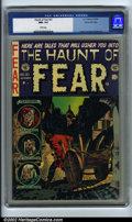 Golden Age (1938-1955):Horror, The Haunt of Fear #21 Gaines File pedigree 3/10 (EC, 1953). CGC NM-9.2 White pages. Ingels, Crandall and Kamen art. Overstr...