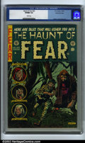 Golden Age (1938-1955):Horror, The Haunt of Fear #23 Gaines File pedigree 8/12 (EC, 1954). CGCVF/NM 9.0 White pages. Kamen, Davis & Evans art. Ingels cove...