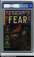 Golden Age (1938-1955):Horror, The Haunt of Fear #25 Gaines File pedigree 3/12 (EC, 1954). CGC NM-9.2 White pages. Davis, Kamen and Evans art. Ingels cove...