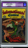 Golden Age (1938-1955):Crime, International Comics #1 (EC, 1947). CGC Apparent VG Slight (A) Restoration includes: small amount of color touch on cover. (...