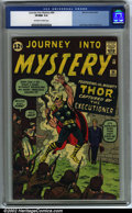 Silver Age (1956-1969):Superhero, Journey into Mystery #84 (Marvel, 1962). CGC VF/NM 9.0 Off-white towhite pages. Second appearance of Thor. Overstreet 2001 ...