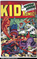 Golden Age (1938-1955):Superhero, Kid Komics #9 (Timely, 1945). This copy of Kid Komics #9 is in VG+ condition with cream pages. Very racist content inside....