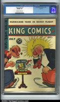 Golden Age (1938-1955):Humor, King Comics #75 Rockford pedigree (David McKay Publications, 1942). CGC VF/NM 9.0 Off-white to white pages. Rockford copy. P...