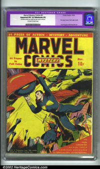Marvel Mystery Comics #2 (Timely, 1939). CGC FN 6.0 Moderate (P) Off-white to white pages. Restoration includes: piece a...