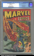 Golden Age (1938-1955):Superhero, Marvel Mystery Comics #78 (Timely, 1946). CGC NM- 9.2 Cream to off-white pages. Classic Timely issues like this are rarely f...