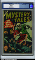 Golden Age (1938-1955):Horror, Mystery Tales #17 (Atlas, 1954). CGC FN 6.0 Cream to off-whitepages. Russ Heath cover. Shores art. Overstreet 2002 FN 6.0 v...