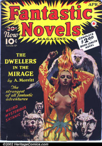 Pulp Group Lot (Miscellaneous Publishers, 1940s-1950s). This lot consists of six old pulps. They are as follows: Fantast...