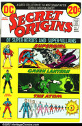 Bronze Age (1970-1979):Superhero, Secret Origins Lot (DC, 1973-74). This lot consists of eight issues of DC's Secret Origins. They are as follows: Issue #...