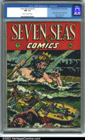 Golden Age (1938-1955):Adventure, Seven Seas Comics #1 (Universal Phoenix Feature, 1946). CGC NM- 9.2 Cream to off-white pages. This is a great copy of a very...