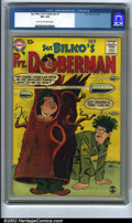 Silver Age (1956-1969):Humor, Sgt. Bilko's Private Doberman #1 (DC, 1958). CGC VF+ 8.5 Light tan to off-white pages. Overstreet 2001 FN 6.0 value = $100; ...