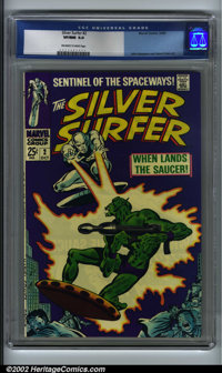 Silver Surfer #2 (Marvel, 1968). CGC VF/NM 9.0 (Off-white to white pages) John Buscema and Gene Colan art. Overstreet 20...