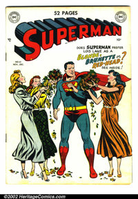 Superman #61 (DC, 1949). Condition: VG. First appearance of Kryptonite
