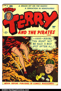 Terry and the Pirates #11 (Harvey, 1948). This copy of Terry and the Pirates #11 is in VG+ condition
