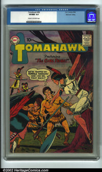 Tomahawk #56 Mohawk Valley pedigree (DC, 1958). CGC VF/NM 9.0 Cream to off-white pages. Overstreet 2001 NM 9.4 value = $...