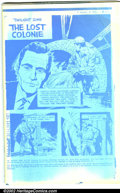 Silver Age (1956-1969):Mystery, Twilight Zone #93 Unpublished Printer's Proof Copy (Gold Key,1962). This is the unpublished Blue Line Copy of Twilight Zo...