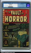 Golden Age (1938-1955):Horror, Vault of Horror #21 (EC, 1951). CGC VF- 7.5 Off-white to whitepages. Craig, Davis and Kamen art. Overstreet 2001 FN 6.0 val...