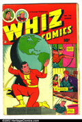 Golden Age (1938-1955):Superhero, Whiz Comics Lot (Fawcett) This lot consists of eight different WhizComics featuring Captain Marvel. They are as follows...