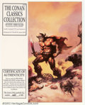 Original Comic Art:Miscellaneous, The Conan Classics Collection Portfolio by Boris Vallejo #441 of2000 (S. Q. Productions, Inc., 1991). Six plates. Condition...