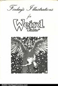 Original Comic Art:Miscellaneous, Finley's Illustrations for Weird Tales Portfolio (Showcase ArtProductions, 1976). Nine plates. Condition: FN. Corners have ...