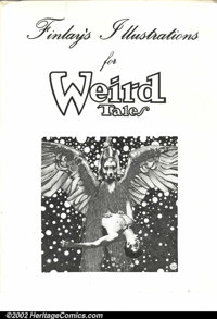 Finley's Illustrations for Weird Tales Portfolio (Showcase Art Productions, 1976). Nine plates. Condition: FN. Corners h...