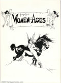 Original Comic Art:Miscellaneous, Frazetta's Women of the Ages Portfolio #930 of 1500 (Middle Earth,Inc., 1977). Six plates. Condition: NM....