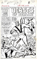 Original Comic Art:Splash Pages, Dick Ayers - Original Art for Tales to Astonish #60 (Marvel, 1964).This incredible splash page is a nice piece of large art...