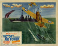 Movie Posters:War, Victory Through Air Power Lobby Card (United Artists, 1943). ...