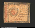 Colonial Notes:Continental Congress Issues, January 14, 1779, $4, Continental Congress Issue, CC-90, CU. ...
