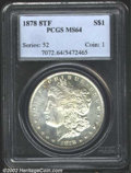 """Morgan Dollars: , 1878 8TF $1 MS64 PCGS. The latest Coin World """"Trends"""" price ..."""