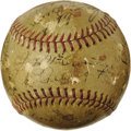 Autographs:Baseballs, 1936 New York Yankees Team Signed Baseball. A special season in theBronx, remembered not only for the World Series victory...