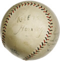 Autographs:Baseballs, 1923 St. Louis Cardinals Team Signed Baseball. Tough team sphereboasts remarkable condition for eighty-four years of age, ...