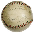 Autographs:Baseballs, 1932 St. Louis Cardinals Team Signed Baseball. After twoconsecutive National League flags, this team inexplicably dropped...