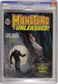 Magazines:Horror, Monsters Unleashed #1 (Marvel, 1973) CGC NM+ 9.6 White pages. Gray Morrow cover. Pablo Marcos, Ralph Reese, and Gene Colan a...