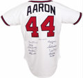 "Autographs:Jerseys, 500 Home Run Club Signed Jersey. Far more scarce and desirable than posters and lithographs bearing the signatures of the ""..."