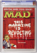 Magazines:Mad, Mad #54 (EC, 1960) CGC NM 9.4 Off-white to white pages....