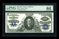 Large Size:Silver Certificates, Fr. 321 $20 1891 Silver Certificate PMG Choice Uncirculated 64.Though a handful of uncirculated examples of this type are k...