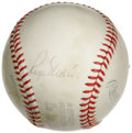 Autographs:Baseballs, 1970's Roger Maris Single Signed Baseball. The 1961 home run hero's early passing in 1985 came shortly before the memorabil...