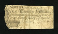Colonial Notes:North Carolina, North Carolina March 9, 1754 20s. Some areas of the back andcorners have been reinforced by a brown colored tape. This piec...