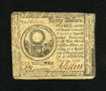 Colonial Notes:Continental Congress Issues, Continental Currency July 22, 1776 $30 Very Fine. A nice, stronglysigned example from a much scarcer Continental issue....