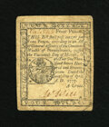 Colonial Notes:Pennsylvania, Pennsylvania April 10, 1777 4d Extremely Fine. This is a verybroadly margined example of this small change note that has go...