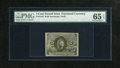 "Fractional Currency:Second Issue, Fr. 1233 5c Second Issue PMG Gem Uncirculated 65 EPQ. Abundant margins and a three digit plate number ""177"" are found on thi..."