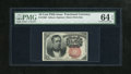 Fractional Currency:Fifth Issue, Fr. 1266 10c Fifth Issue PMG Choice Uncirculated 64 EPQ....