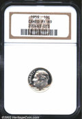 Proof Roosevelt Dimes: , 1959 10C PR 69 Cameo NGC. ...