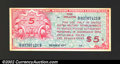 Military Payment Certificates: , Series 471 $5 Choice Extremely Fine. This is one of the ...
