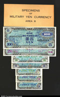 Miscellaneous:Other, Specimens of Military Yen Currency Area B. According to ...