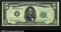 Error Notes:Skewed Reverse Printing, Fr. 1962-C $5 1950A Federal Reserve Note. CGA Extremely Fine ...