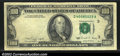 Error Notes:Foldovers, Fr. 2173-L $100 1990 Federal Reserve Note. Very Fine. A ...